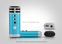 Best Karaoke Machine For Promotion Microphone i9 KTV Karaoke Player for mobilephone mp3 mp4 PC hwholesale gift for musical lover