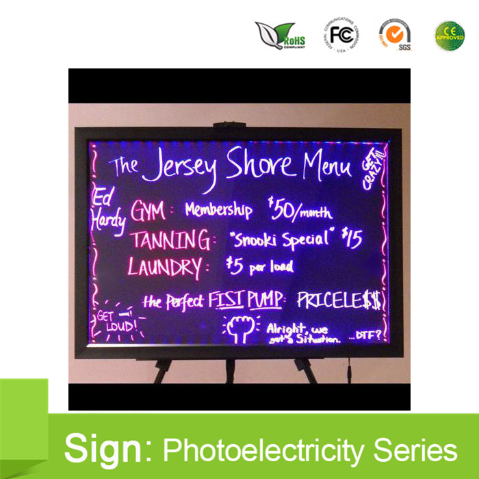40*60 cm LED writing board / led display board/ advertising led writing board