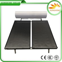 centralized flat plate solar water heating system