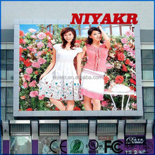 Niyakr outdoor p10 led panel with stable quality in brazil video call android tablet pc Niyakr led video billboard