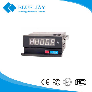 195DCE 96*48mm 5 digital LED panel mounting energy meter, DC energy monitor volt, amp, power singel phase display