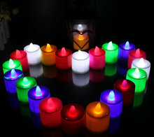 Colour candle Smokeless Candle Electronic candles