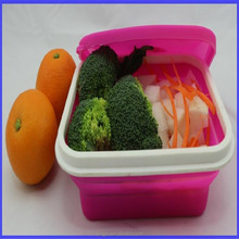 High Temperature Resistant Silicone Food Container