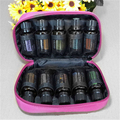 Factory wholesale 10 Bottles Essential Oil Carrying Case Travel Essential Oil Bag