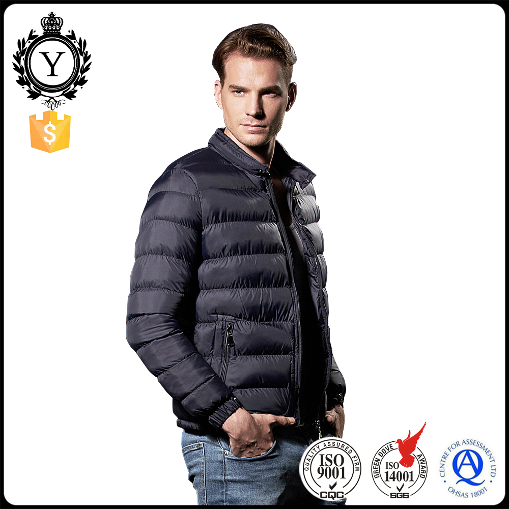 2016 COUTUDI New Style Navy Blue Windproof Fashion Wholesale Korea Fashion Short Fancy Mens Winter Coat
