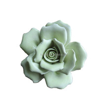 Decorative Luxury Handmade Porcelain Making Miniature Ceramic Flowers For Crafts