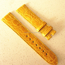 26mm real crocodile leather watch strap cheap cost