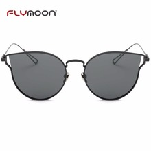 Latest promotion sun glasses own brand cat uv400 high quality metal highly praised sunglasses