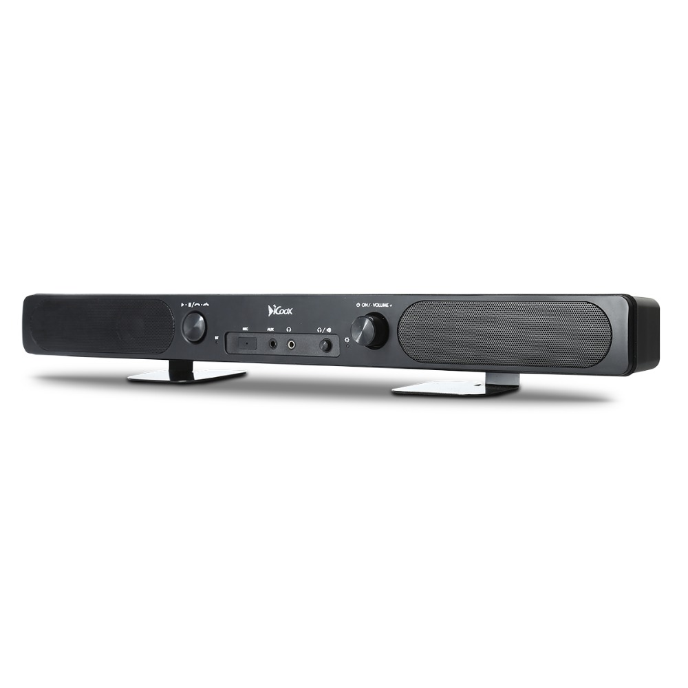 Haissky New HI-FI Luxury 6W Wireless <strong>Speaker</strong> /Mini TV Soundbar Receiver for Home Using