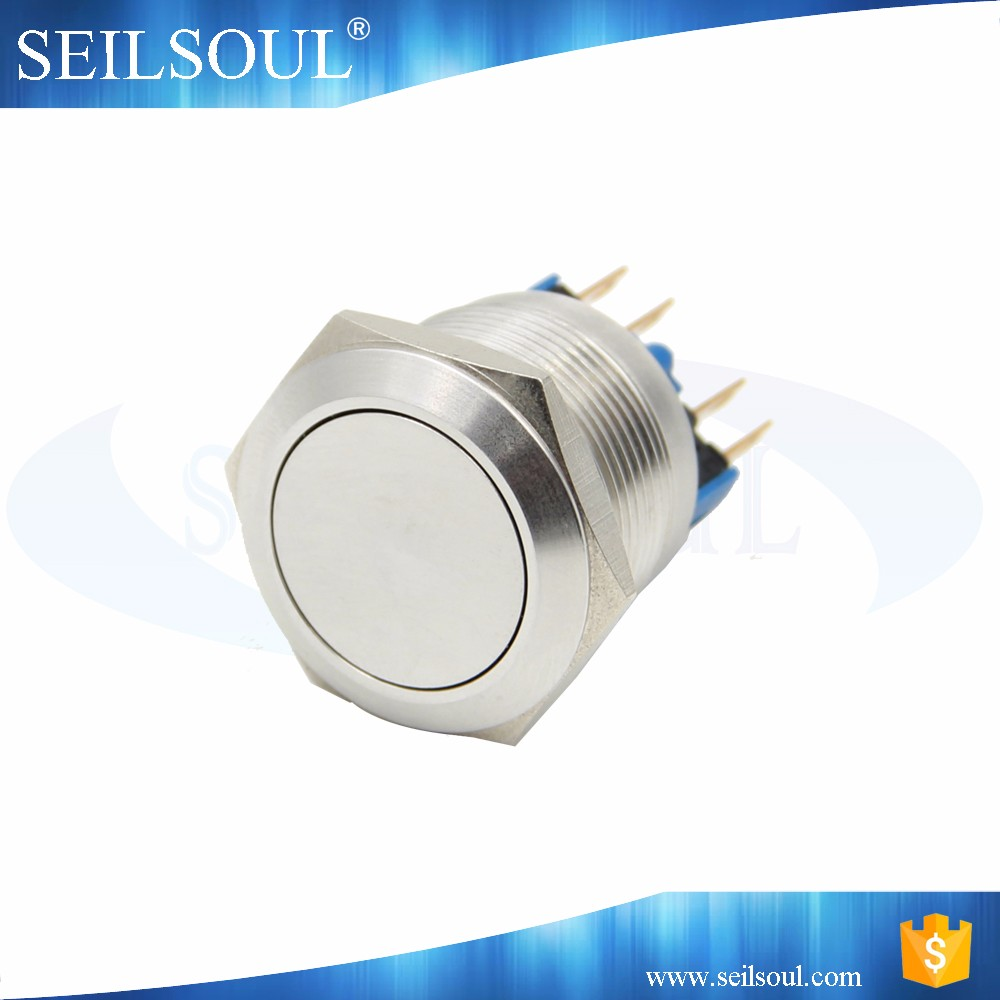 deeshahot 1NO1NC contact 22mm switch vandal resistant 22mm on/off switch
