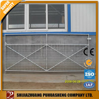 wholesale China factory galvanized cattle fence panel /pig fence/fencing