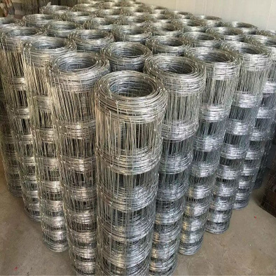 Hot dipped galvanized steel Farm filed fence hinge joint cattle fence