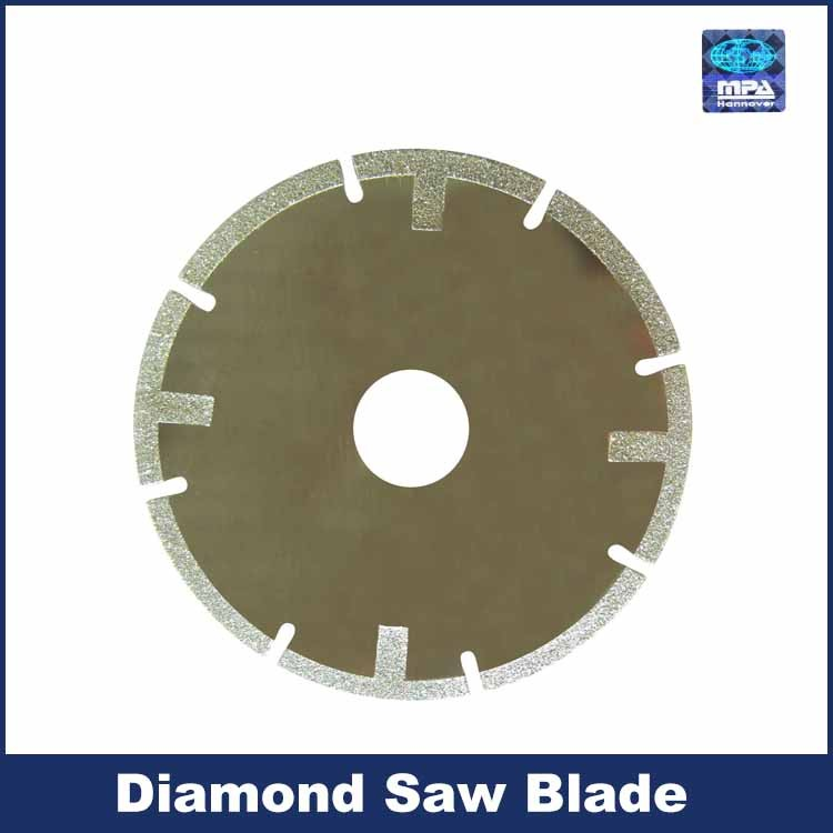 Hot Pressed Diamond Turbo Saw Blade For Cutting Asphalt