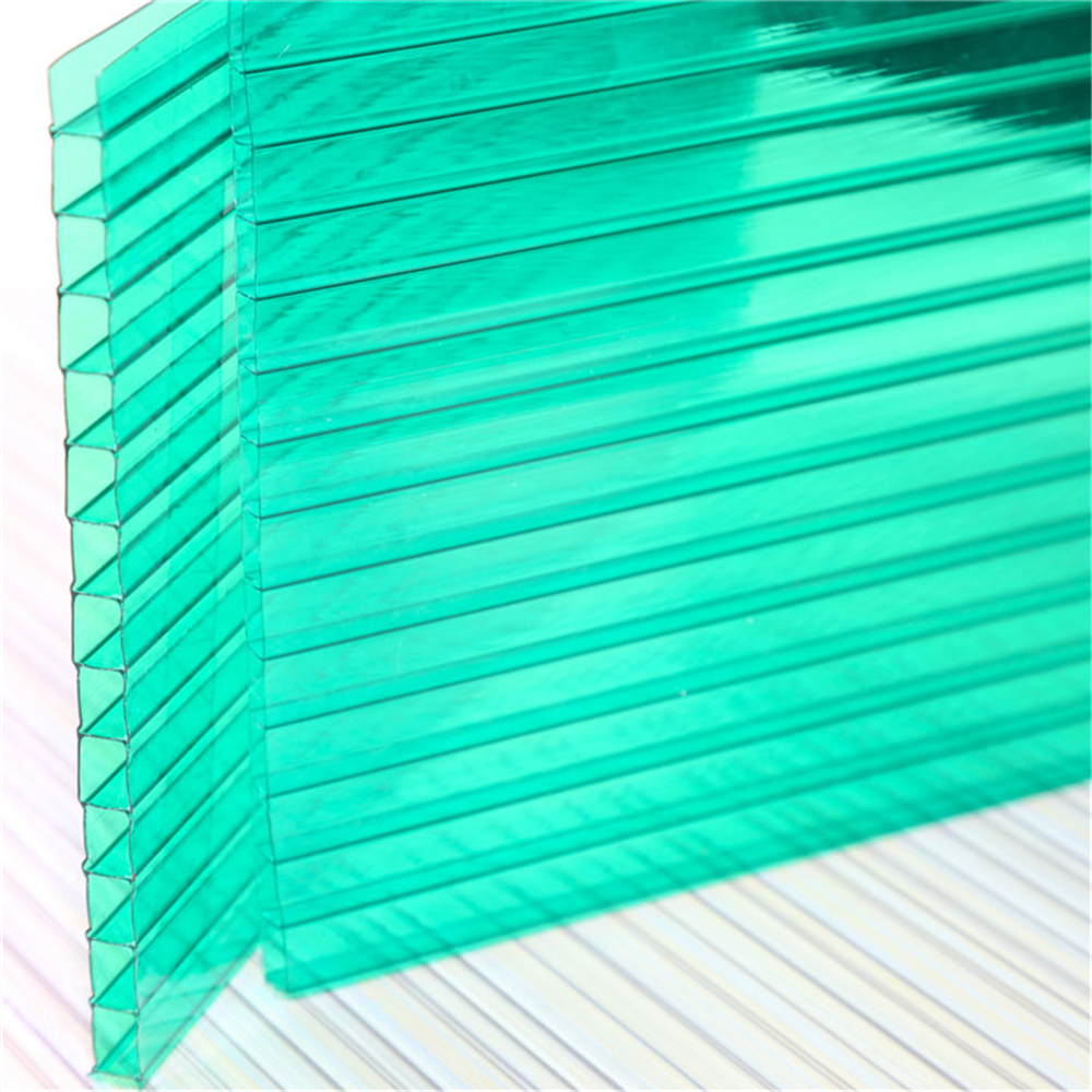 twin wall PC sheets hollow/4mm twin wall polycarbonate sheet