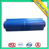 PMMA Good Quality PVC Recycled ASA Plastic Resin Roof Tile