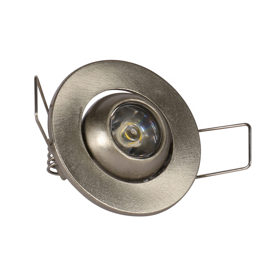 High power 45mm cut out mini recessed <strong>downlight</strong> led 1w adjustable