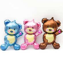 hot selling High quality bear shaped foil balloons