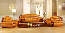 Free shipping corner <strong>modern</strong> leather sofa furniture sectional lounge suite