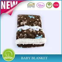 SEDEX BSCI DISNEY Factory High Quality Reasonable Price Soft Touch Baby Blankets sherpa baby blanket