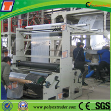 China Wuhan Courier Bags Film Extruder