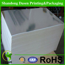 high quality wet strength aluminum coated paper for beer label,gift wrapping