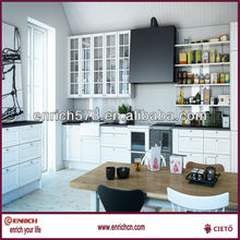 Drawer kitchen with soft closing(slow-motion) / Fashion kitchen furniture