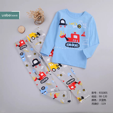 Wholesale <strong>Children</strong> Clothes <strong>Set</strong> for boy Long Sleeve Suit 2 piece T-shirt and pants