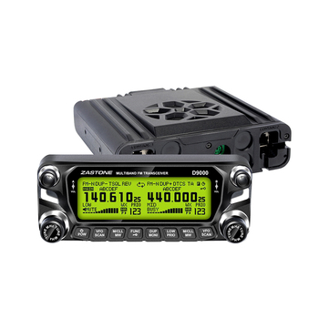 50 watt Long range Car mobile woki toki ZASTONE D9000 dual band mobile transceiver ham radio