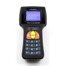 T300 T-code Universal Auto Transponder key programmer English & Spanish Version V17.8 Black or Blue Auto Key Programmer