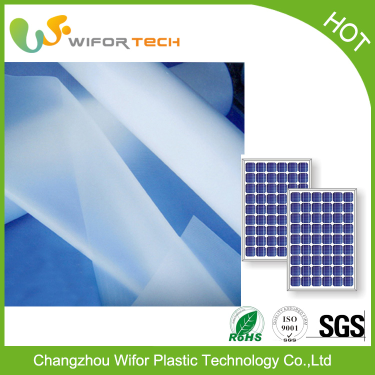 Laminated Excellent Transmittance Eva Transparent Thin Film for Solar Panel