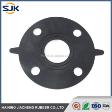 NBR,SILICONE, VITON, EPDM, HNBR rubber waterproof flange gasket