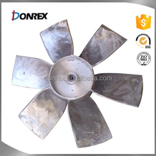 OEM service iron and stainless steel axial fan impeller