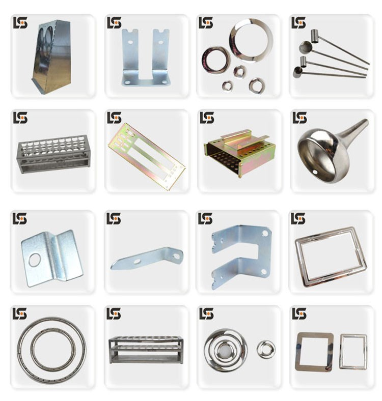 All kinds of sheet metal parts sheet metal fabrication from china