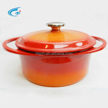 Cast iron pan is suitable for a variety of cooking methods