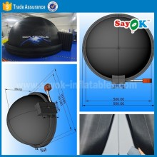 home digital inflatable planetarium dome projection dome tent for 50 people