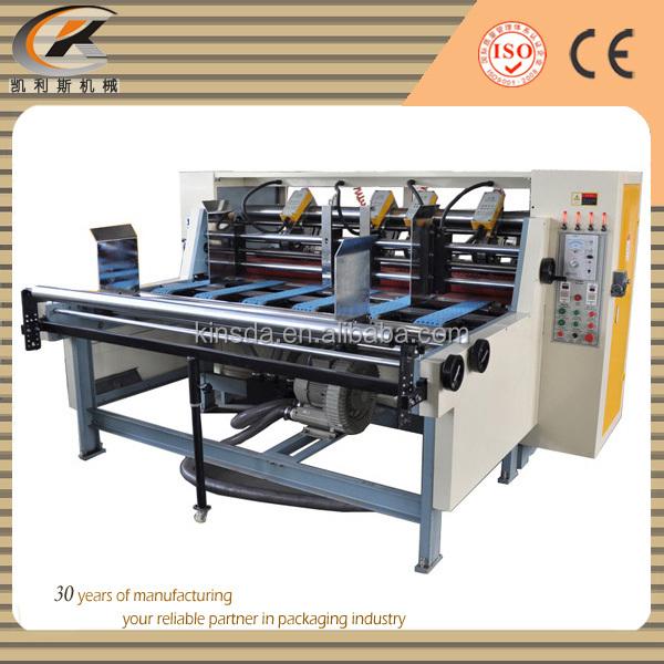 corrugated cardboard auto thin blade automatic slitter cutter creaser