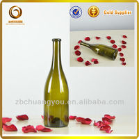 wholesale glass liquor bottle/high clear bottle in China