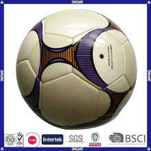 world cup street promotional real leather factory advertising wholesale custom print street soccer ball