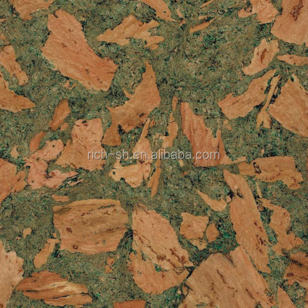 green cork tiles/decorative wall covering