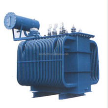 Steady Power Distribution copper winding Equipment oil immersed transformer with CE certification