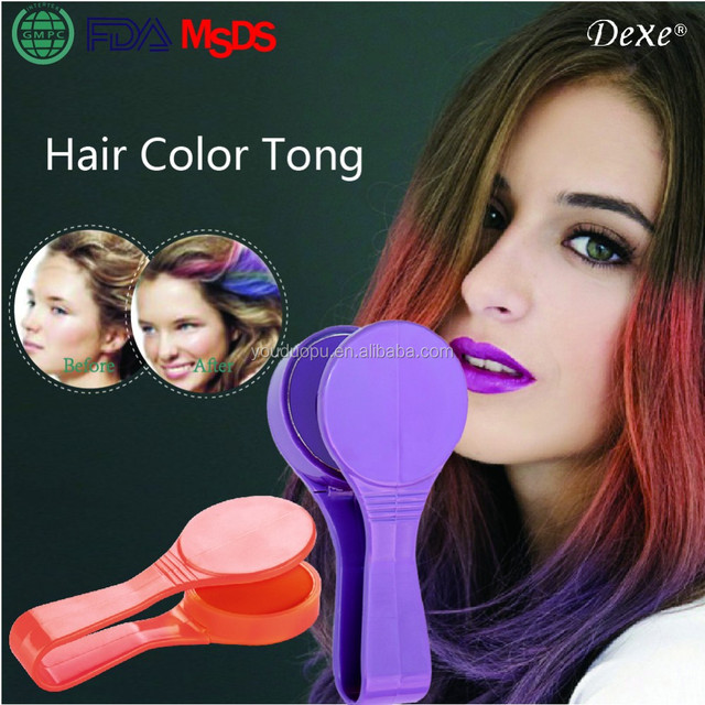 Dexe Brand 12 Colors Avalival Temporary Hair Color Chalk For Party