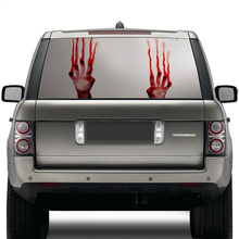cool design high beam ghost sticker decal see through car rear window windshield stickers with waterproof