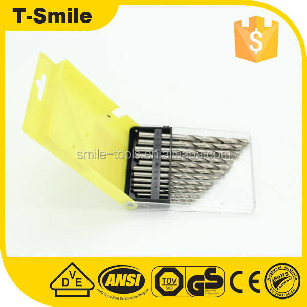 Supply professional hight quality hss taper shank twist drill bits