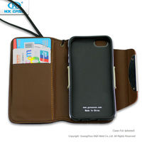 Sublimation leather cell phone case for iphone5