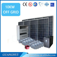 10kw solar power systerm 10kw solar photovoltaic system include solar panel controller battery inverter and accessory