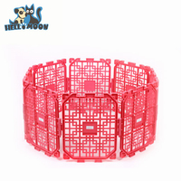 Family expenses DIY Plastic Folding Cheap Portable Pet Kennel