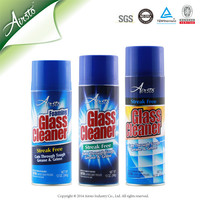 Aerosol Foam Glass Cleaner Spray