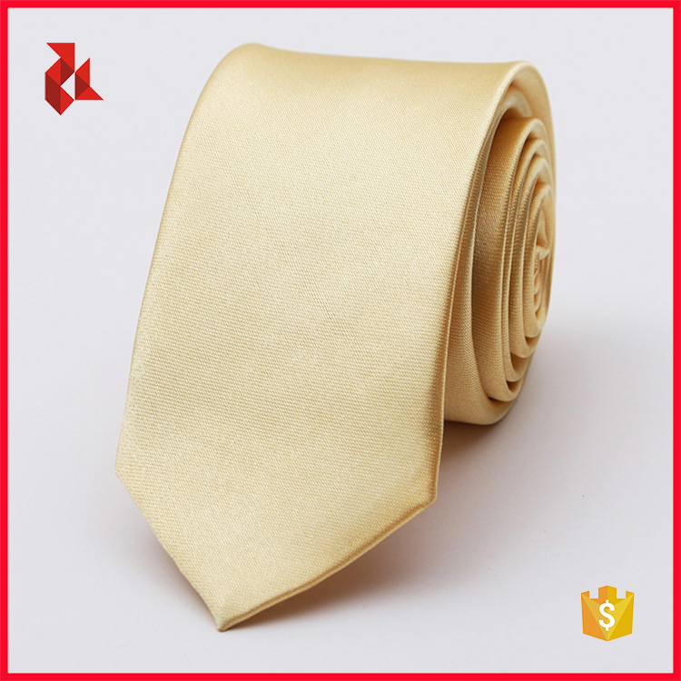 Hot Sale Polyester Mens Satin White Ties