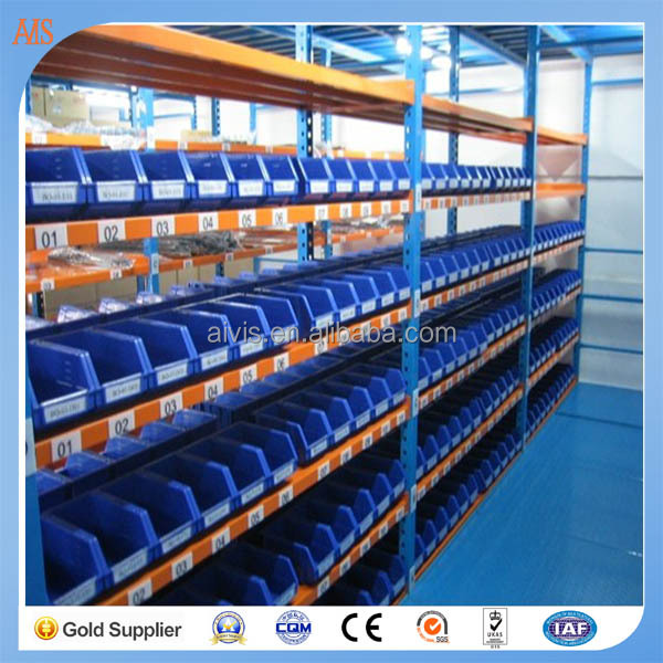 Blue and orange Long Span Racking from China qualified supplier