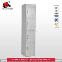 factory wholesale and high quality steel clothes armoire/small size metal storage locker